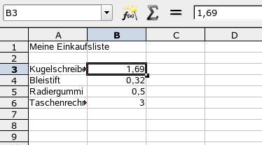 OpenOffice-Calc – Debacher-Wiki
