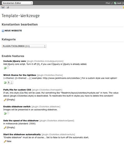 Typo  Extension Builder