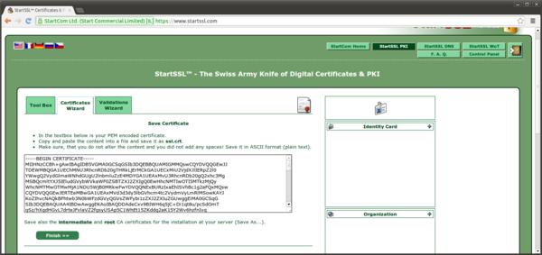 Server-Zertifikate mit StartSSL – Debacher-Wiki
